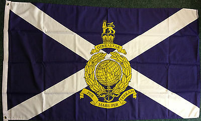 Scottish Royal Marines Scotland St Andrews Flag Navy Scots Armed Forces 5x3 bn