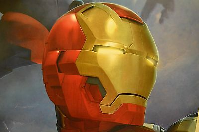 "Wholesale Lot of 9 Iron Man 3 ""Patriot"" Posters  22.5"" x 34""  Marvel Comics"