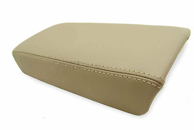 Center Console Armrest Real Leather Cover for Honda Accord 03-07 Beige