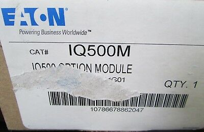 Eaton Cutler Hammer Overload Relay SPECIAL FUNCTION MODULE  IQ500M 9966D64G01