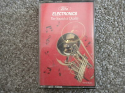 FORD ELECTRONICS CASSETTE TAPE 1995
