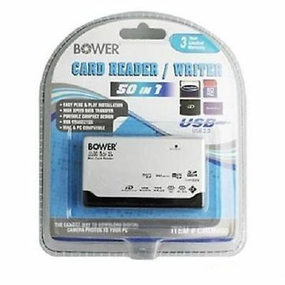 Bower 50-in-1 USB 2.0 Flash Memory Card Reader/Writer