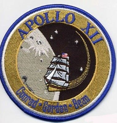 Apollo 12 Space Mission Patch