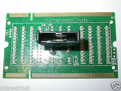 New Laptop Memory Card DDR2/DDR3 Test Card SO-DIMM Pin Out LED Light Tester