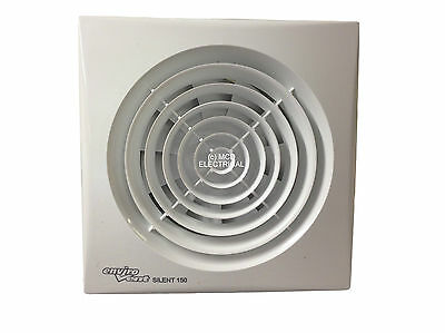 "Envirovent SILENT-150T ""Silent"" Extractor Fan with Timer 6""/150mm SIL150T"