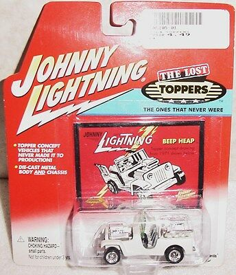JOHNNY LIGHTNING THE LOST TOPPERS BEEP HEEP THE ONES THAT NEVER WERE  2001 MINT