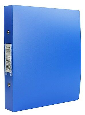 1 REXEL BLUE BUDGET A5 2 RING BINDER POLY COVER 25mm RX13428BU