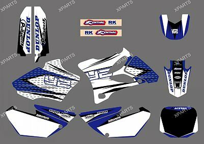 TEAM GRAPHICS & BACKGROUNDS DECALS FOR YAMAHA YZ85 2002 2003 2004 2005 2006 2007