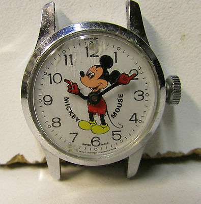 Waltz Disney Production - MICKEY MOUSE- Bradley Time Division - Swiss Made 37-PZ