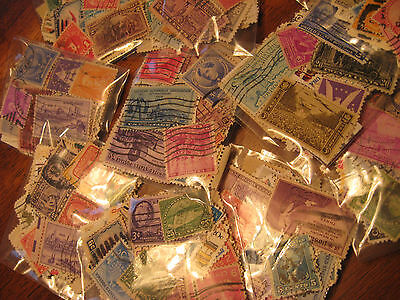 Vintage Lots Of Used, US Postage Stamps Buy 4 Lots Get 1 FREE,Buy 10 Get 3 FREE