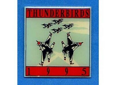1995 Thunderbirds Team Pin Last Few