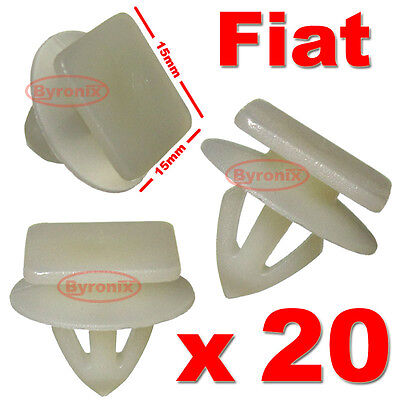 Fiat Coupe Punto Side Skirt Clips Lower Sill  Moulding Strip Exterior