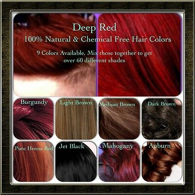 Henna Hair Dye Dark Brown Natural Hair Color Powder Conditioner