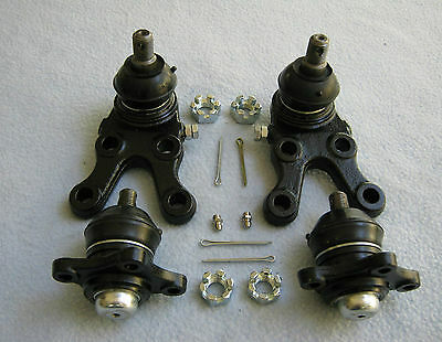 Free Postage Mitsubishi Pajero Upper and Lower Ball Joints KIT NH NJ NK NL 91-00