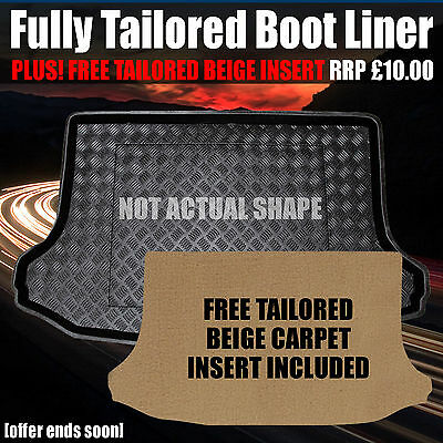 BMW 3 Series E46 Touring (1999-2005) Boot Mat - Liner - Tray - Fully Tailored