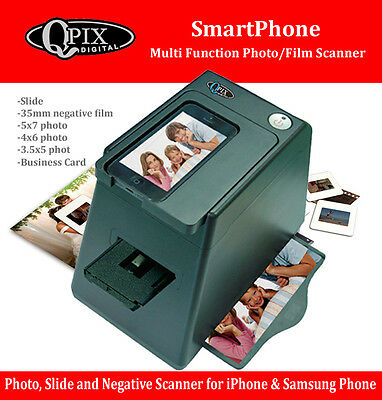 Qpix Smart Phone Multi Function Photo and Film Scanner