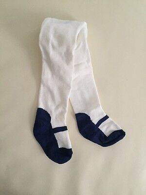 New Baby Girls Infant Faux Shoe Combed Cotton Knit Tights Legging Stocking 0-24m