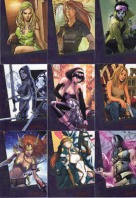 2013 The Woman of Marvel series 2 90 card base set +P1 + wrapper