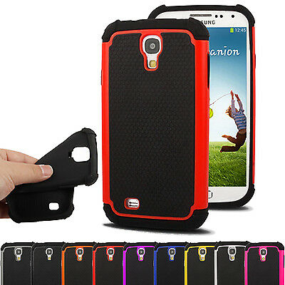 Stylish Dual Shock Proof Series Case Cover For Samsung Galaxy S4 Mini