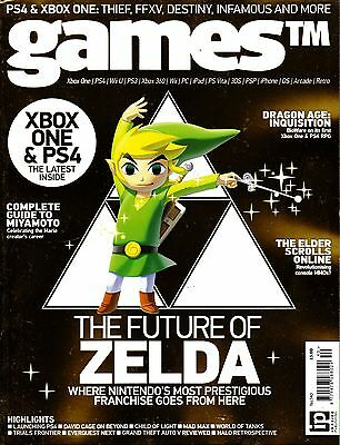 GAMES TM #140 THE FUTURE OF ZELDA Dragon Age: Inquisition XBOX ONE & PS4 @NEW@