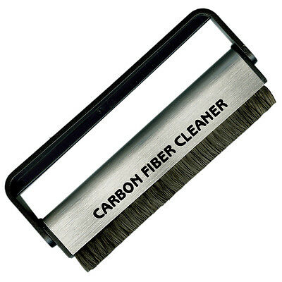 Acc-Sees Pro Vinyl Carbon Fibre Fiber Antistatic record cleaner cleaning brush.
