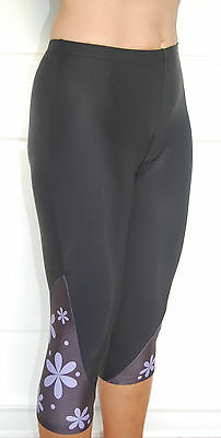 JIVANA Womens Ladies Cycling bike padded Knicks 3/4 pants shorts XS-4XL*