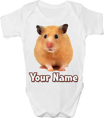 GRO //BODYSUIT *GREAT GIFT /& NAMED TOO * LHASA APSO DOG  PERSONALISED BABY VEST