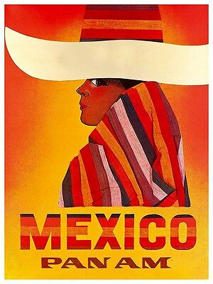 "Art Mexico Travel Poster Mazatlan Vintage Rare Hot New Original 12x16/"" XR98"