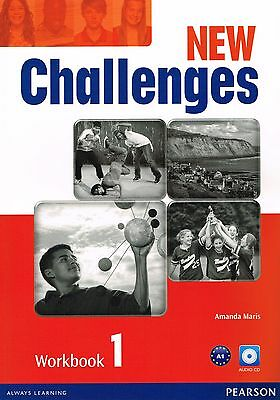 Pearson NEW CHALLENGES 1 Workbook with AUDIO CD Level A1 @NEW@ AMANDA MARIS