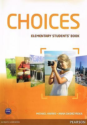 Pearson CHOICES Elementary STUDENTS' BOOK Level A1-A2 Published in 2013 @NEW@