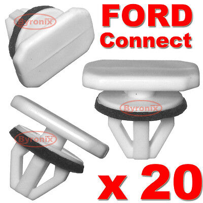 20 Ford Transit Connect Tourneo Wheel Arch Trim Clips Plastic Front Wing Rear