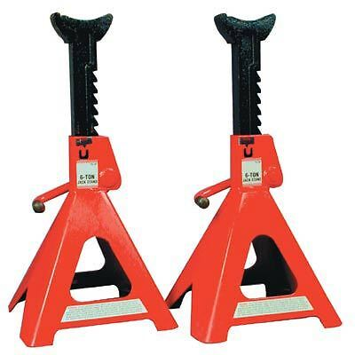 Heavy Duty Pair of 6 TON JACK STANDS