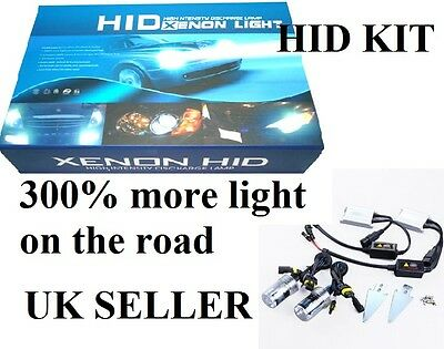 Xenon Hid  Kit H7  6000K 55W 300% More Light In The Road