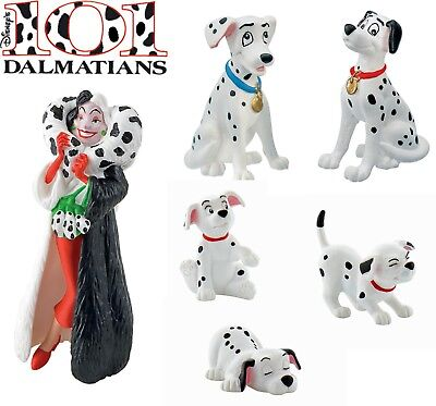 BULLYLAND DISNEY 101 DALMATIANS FIGURES - Choice 6 figures - Great cake toppers