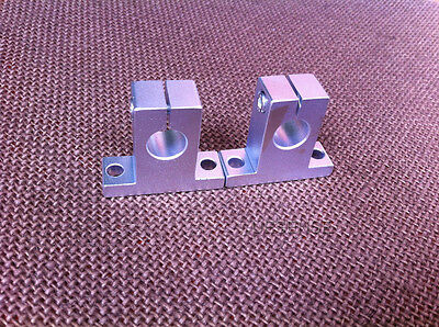 2pcs SK10 Size 10mm CNC Linear Rail Shaft Guide Support New