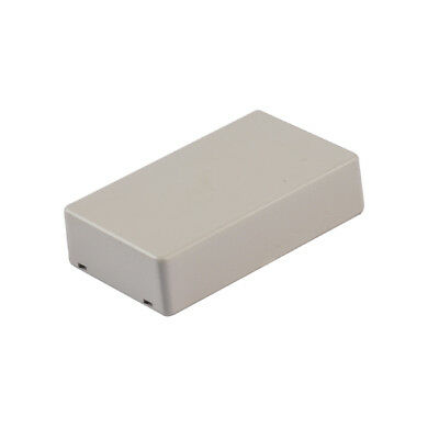 5x Grey Plastic Electronic Project Box Enclosure Instrument case DIY 100x60x25mm