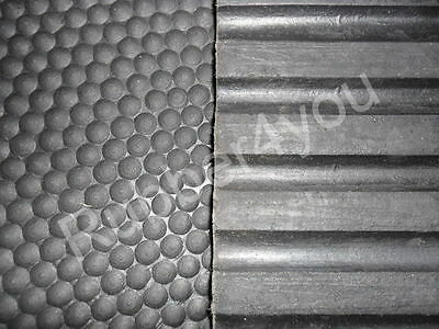 Best Quality Hammered/Bubble Rubber Stable 6ft x 4ft x 17mm/18mm