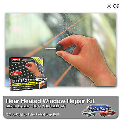 VW Transporter / Caravelle T4 Heated Rear Window Screen Repair Kit -DIY