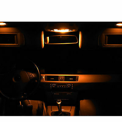 SMD LED Innenlicht Renault Clio 3 III Typ R komplett Set orange