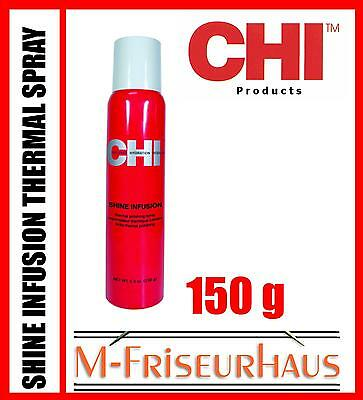 (€7,87/100g) CHI 44 FAROUK Shine Infusion Thermal Spray Glanz 150g aus USA