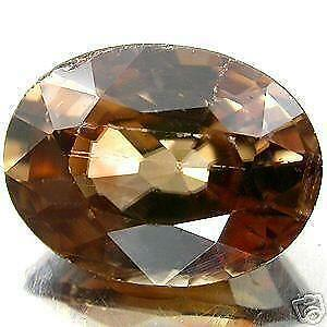 ZIRCON CHAMPAGNE. 1.73 CTS.  SI 1. Afrique