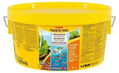 Sera Vipagran Baby 1,1 Kg  Nourriture Pour Poissons D'ornement