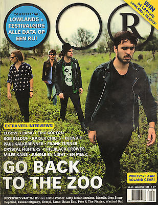 MAGAZINE OOR 2011 nr. 07 - GO BACK TO THE ZOO/BLONDIE/KAISER CHIEFS/AGNES OBEL