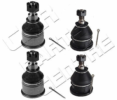 For Honda Prelude Brand New Front Upper Lower Suspension Ball Joints 97 -01