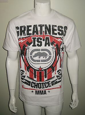Nwt Ecko Unltd Mma Greatness Men T Shirt Choose Your Size White Free Us Shipping
