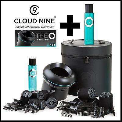 Cloud Nine THEO The O Geschenkset Heißwickler Induktion Station + Spray GRATIS