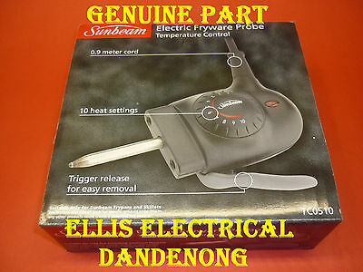 GENUINE Sunbeam Electric Frypan Heat Controller, Probe TC0510 - Ellis Electrical