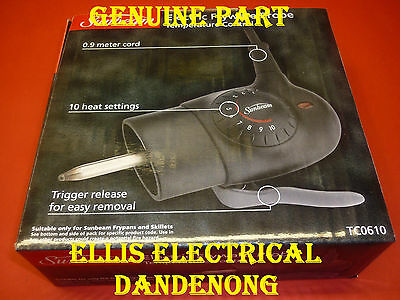 GENUINE Sunbeam Electric Frypan Heat Controller, Probe TC0610 - Ellis Electrical