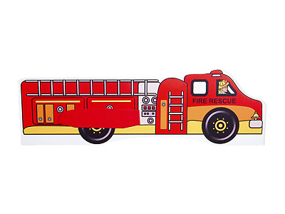 Childrens Bed Junior Toddler Kids With Mattress !!! Fire Rescue !!!