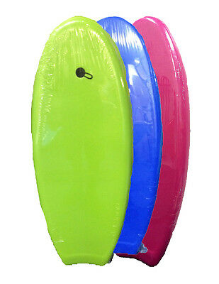 "NEW SLICK BLUE GREEN PINK 47"" Body Boogie Board 120x47 Surf Waves Beach"